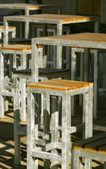 tubular furniture chairs and tables