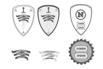 Heraldic Shiles Icons