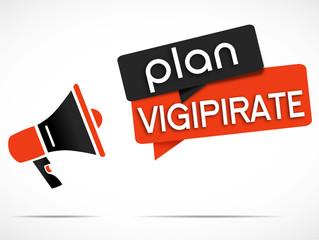 mégaphone : plan vigipirate