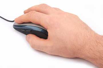 mouse and hand