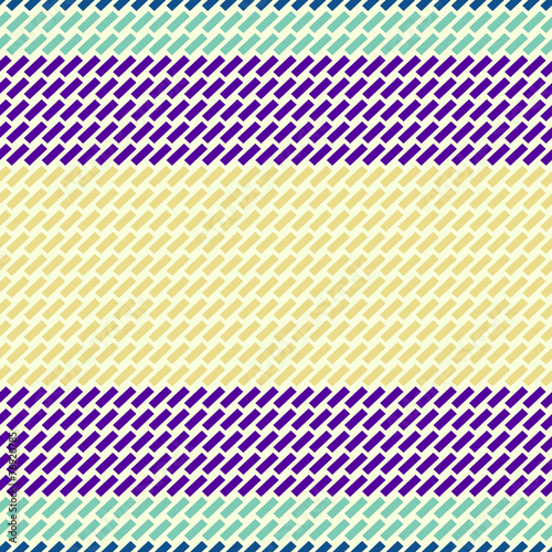 Colorful abstract pattern with rectangular - 76920785