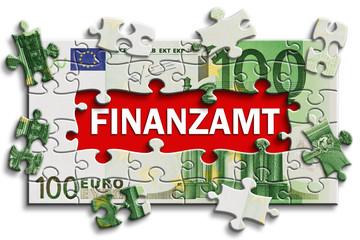 Geldschein - Finanzamt
