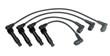 Leinwanddruck Bild - High-voltage wires for the car.