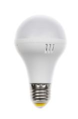Round LED lamp.