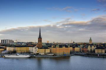 Riddarholmen, small island in central Stockholm. Sweden