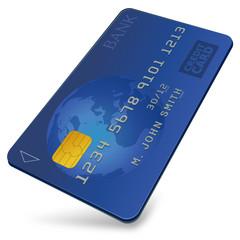 Credit card (3D)