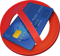 Credit card banned (3D)