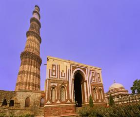 Qutab Minar at new Delhi India