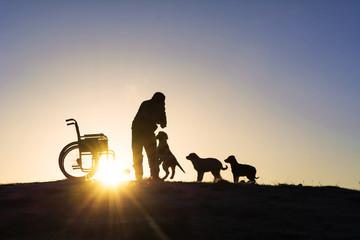 engelli insanların hayvan sevgisi