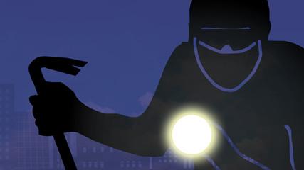 bi11 BurglarIcon - burglar with crowbar - 16to9 g3074