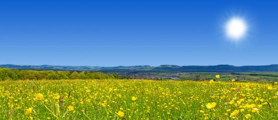 Frühlingslandschaft im Filstal