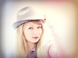 girl in the hat, instagram
