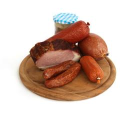 Wurst, Fleisch und Sülze