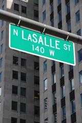Chicago LaSalle street