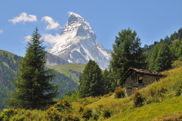 Matterhorn Zermatt - Prächtiger Berg, malerische Berglandschaft