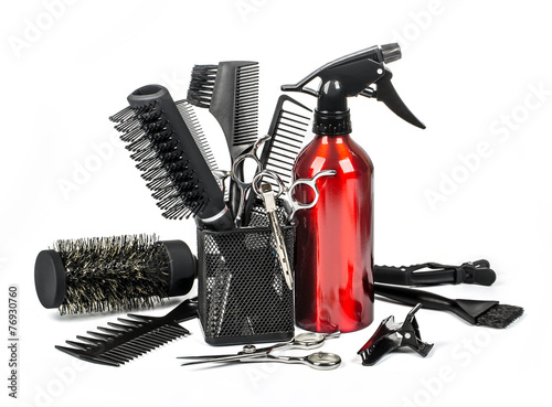 Professional hairdresser tools - 76930760