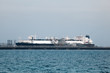 Tanker ship in the port of Kuwait, Middle East - 76930947