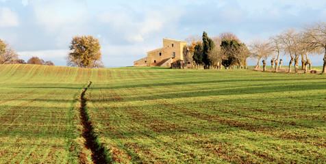Una fattoria in campagna
