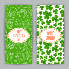 greeting cards for St. Patrick`s Day
