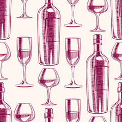 wine and wineglasses - 2