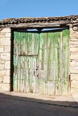 Puerta de granja