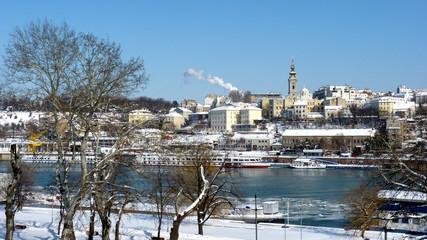 Belgrade on ice