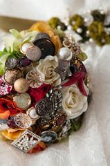 Bride's Broach Bouquet