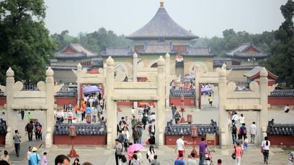 Temple of Heaven Tiantan Pagoda Beijing, China, Asia,