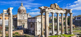 Fototapety Ancient Ruins of Rome - Imperial Forum - Italy