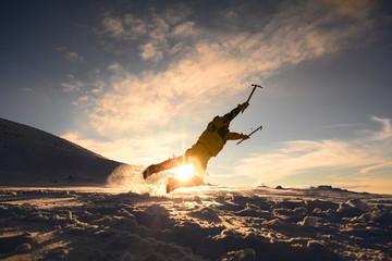 eğlenceli dağcı