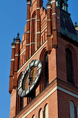 Church of the Holy family. Kaliningrad (former Koenigsberg), Rus
