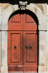Ancient tuscan door