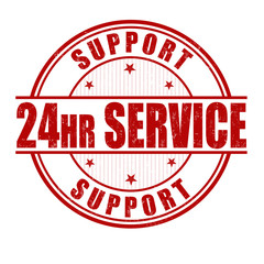 24 hour service stamp