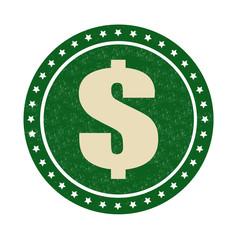 Dollar stamp