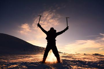 kış tırmanış sporu
