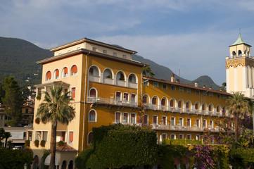 Gardon Riviera on Lake Garda in the Italian Lakes in Italy