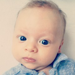 Baby boy beautiful face