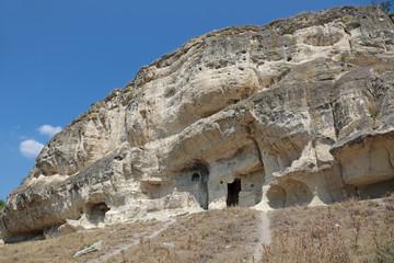 Chufut-Kale cave city-fortress, Bakhchysarai, republic Crimea