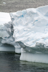 Antarctica - Texture Of Iceberg - Extremely Close