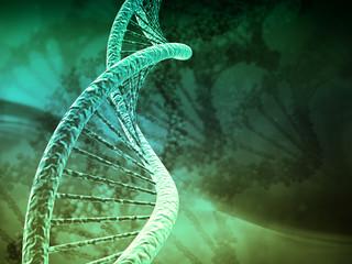 Digital illustration DNA