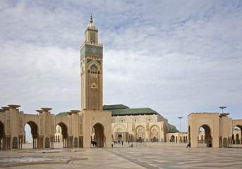 Hassan II Mosque in Casablanca. Morocco