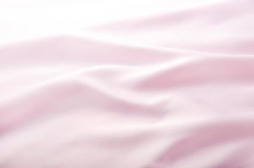 ピンクのドレープ