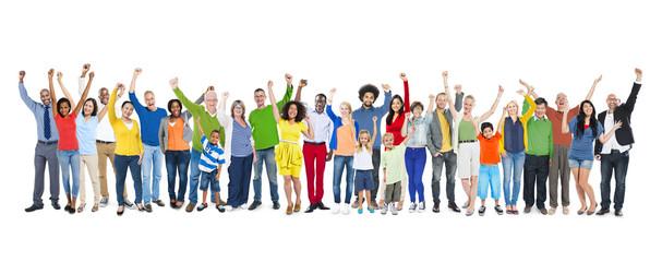 Diversity Ethnicity Multi-Ethnic Variation Togetherness Concept