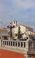 教会のある街