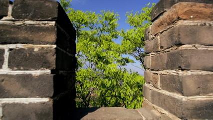 Landscape Great Wall of China Beijing people Mutianyu