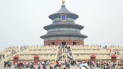 Temple of Heaven Imperial Sacrificial Alter Beijing China Asia