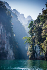 The Cheow Lan Lake. Thailand