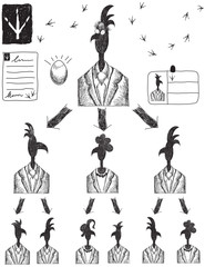 Corporate Pecking Order