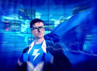 Thunderbolt Strong Superhero Success Professional Empowerment St