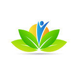 Fototapety Wellness logo